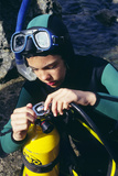 Scuba Diving Photographic Print by Alexis Rosenfeld