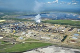 Oil Processing Plant, Athabasca Oil Sands Photographic Print by David Nunuk