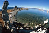 Fisheye View of Tufa Formations At Mono Lake, USA Prints by David Nunuk