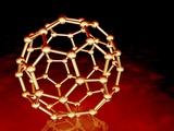 Buckminsterfullerene Molecule Fotografisk tryk af PASIEKA