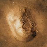 Face on Mars Photographic Print by  NASA