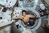 Dr Mukai Entering IML-2 Module, Shuttle STS-65 Photographic Print by  NASA