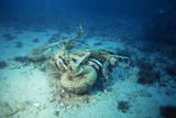 Motorbike on the Seabed Photographic Print by Alexis Rosenfeld
