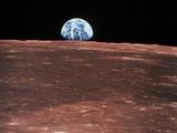 Earth Rising Papier Photo par  NASA