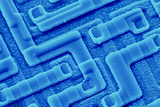 SEM of Integrated Circuit Fron Computer's Prints by  PASIEKA