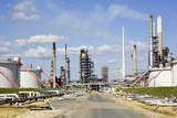Oil Refinery Photographic Print by Paul Rapson