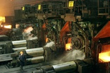 Sheet Mill Processing Molten Metal Photographic Print by Ria Novosti