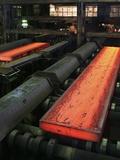Molten Metal Bars Prints by Ria Novosti