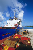 Cargo Ship Photographic Print by Alexis Rosenfeld