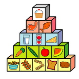 Food Pyramid Photographic Print by David Nicholls