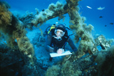 Underwater Biological Research Photographic Print by Alexis Rosenfeld