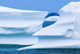 Icebergs, Canada Photographic Print by David Nunuk