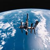 Mir Space Station Premium Photographic Print