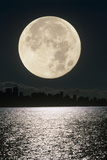 Full Moon Prints by David Nunuk