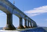 Confederation Bridge, Canada Print by David Nunuk