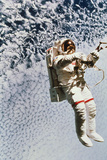 Evaluation of SAFER EVA Backpack, STS-64 Photographic Print by  NASA