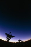 Very Large Array (VLA) Radio Antennae Photographic Print by David Nunuk