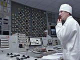 Chernobyl Nuclear Power Plant Worker Posters by Ria Novosti