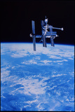 Mir Space Station Photographic Print by  NASA