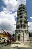 Leaning Tower of Pisa Repairs Prints by David Nunuk