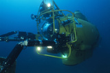Navy Submersible Photographic Print by Alexis Rosenfeld