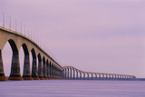 Confederation Bridge, Canada Posters by David Nunuk
