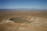Meteor Crater, Arizona Print by David Parker