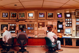 Physicists In SLAC Control Room Posters by David Parker