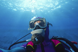 Diver Communication System Photographic Print by Alexis Rosenfeld