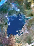 Lake Victoria, Satellite Image Photographic Print by  PLANETOBSERVER