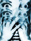 Strach (Fear) Reprodukcja zdjęcia autor Hans-ulrich Osterwalder