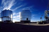 Very Large Telescope Being Built At Cerro Paranal Posters by David Parker