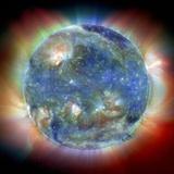 Solar Corona Photographic Print