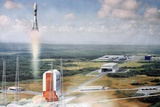 Launch Pad Model, Guiana Space Centre Prints by Ria Novosti
