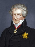 Georges Cuvier, French Zoologist Print by Maria Platt-Evans