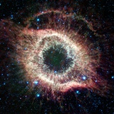 Helix Nebula, Infrared Spitzer Image Photographic Print by  NASA