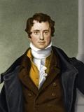 Humphry Davy, British Chemist Fotografisk tryk af Maria Platt-Evans
