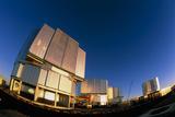 VLT Telescopes Posters by David Nunuk