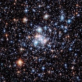 Open Star Cluster NGC 290 Photographic Print by E. Olszewski