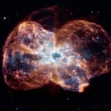 NGC 2440 Planetary Nebula, Hubble Image Photographic Print by  NASA