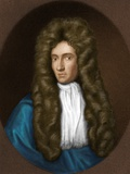 Robert Boyle, Irish Chemist Fotografisk tryk af Maria Platt-Evans