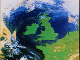 British Isles From Space Prints by NRSC