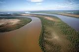 Muddy River Fotografisk tryk af Alexis Rosenfeld