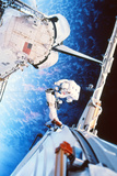 ISS Space Walk Photographic Print