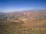Foothills of the Andes, Atacama Desert, N.Chile Lámina fotográfica por David Parker