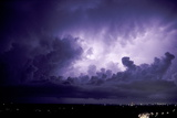 Lightning Photographic Print by Pekka Parviainen