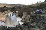 Gas Pipeline Explosion, Ukraine Photo by Ria Novosti