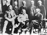 Mendeleyev At BAAS Meeting 1887 Photographic Print by Ria Novosti