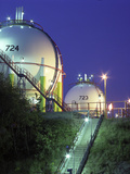 Oil Refinery Storage Tanks Photo by Paul Rapson