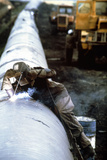 Techncian Welds with An Oxyacetylene Torch Photographic Print by Ria Novosti